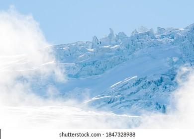 Seracs at Glacier du Trient in Vallée du Trient, Valais - Shutterstock ID 1847328988