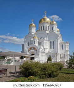 Serafimo-Diveevsky monastery. Cathedral of the Transfiguration. Diveevo. Russia