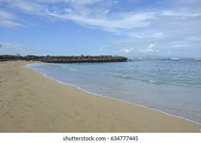 Serangan beach, Bali, Indonesia. Popular surf spot