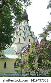 Seraphim-Znamensky skete on the territory of Bityagovo village in Domodedovo, Moscow region, Russia