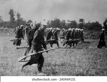 Serbian forces resisted Austria's 1914 invasion, then retreated to rest and resupply. In 1915 about 225,000 Serbs faced Bulgarian, German, and Austro-Hungarian armies under Field Marshal Mackensen.