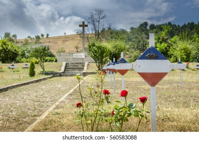 Serbian military First world war and Balkan wars cemetery in Bitola Macedonia