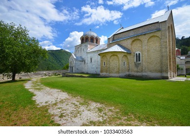 Serbian Othodox Monastery Studenica, founded in 12th century