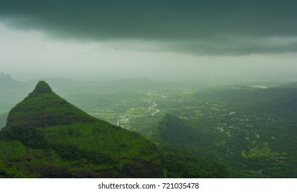 Serene beauty of Lonavala, View from Lions point