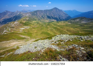Serene landscape in a mountains