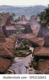 The serenity of Prai Ijing Traditional Village in Sumba, East Nusa Tenggara, Indonesia