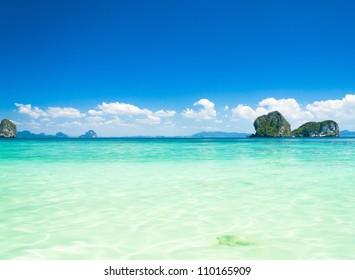 Serenity Shore Nature And Nobody