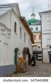 SERGIEV POSAD, RUSSIA - June 21, 2018: The Holy Trinity-St. Sergius Lavra, Sergiev Posad, Russia