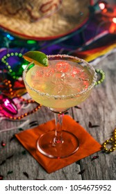 A series of background images for Cinco De Mayo fiesta celebrations.  Margarita.