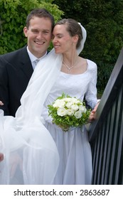 a series of happy wedding pictures.