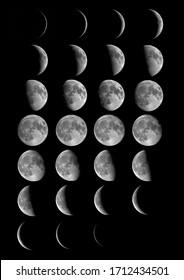 Series of Moon in November 2016