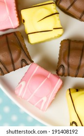 A series on French Fondant Fancies, a type of Petit Four