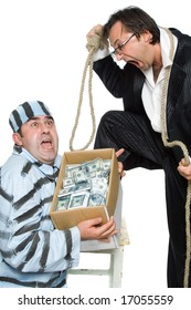 A series of pictures about swindlers and judges