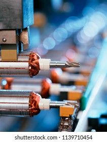 series production of  electric motors