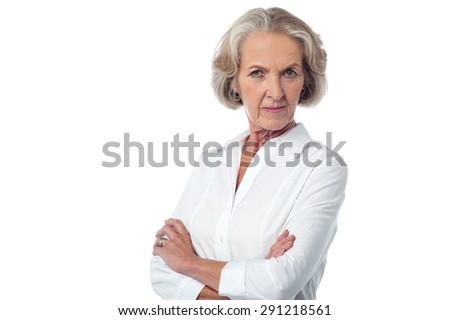 Mature posing wife