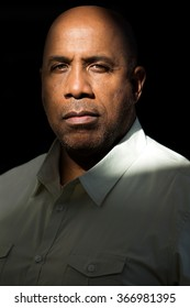 Serious photo of an African American man