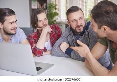 Serious talk among my men friends