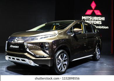 Serpong, Indonesia- 08 07 2018: Mitsubishi Xpander's new colour