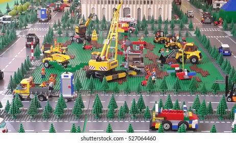 Alam sutera images stock photos vectors shutterstock serpong indonesia circa june 2015 lego exhibition at mall alam sutera serpong altavistaventures Images