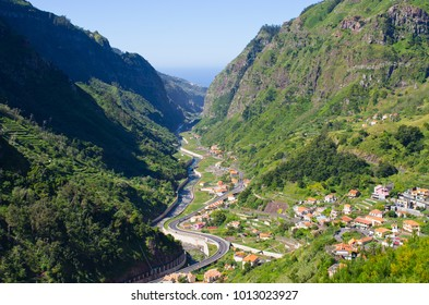 Serra de Agua valley on Madeira island - Portugal