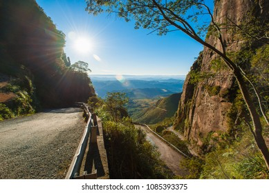 """""""Serra do Corvo Branco"""", south of the state of Santa Catarina Brazil. Chain of mountains with altitudes between 1400 to 1900 meters."""
