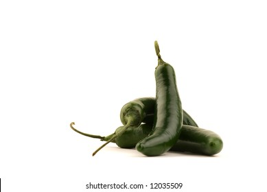 Serrano Chile Peppers - Piled