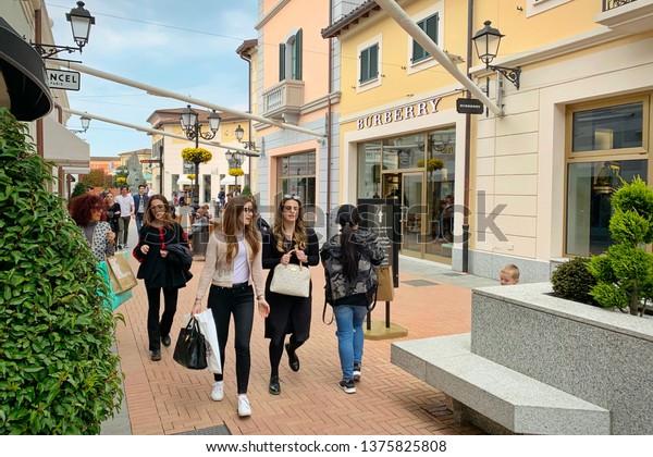 the best attitude c5f4d d747b Serravalle Designer Outlet Largest Outlet Italy Stock Photo ...
