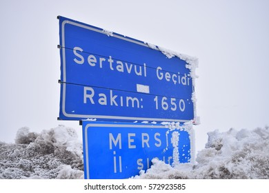 """Sertavul"" mountain pass. Sertavul altitude. Sertavul gecidi, Sertavul plate"