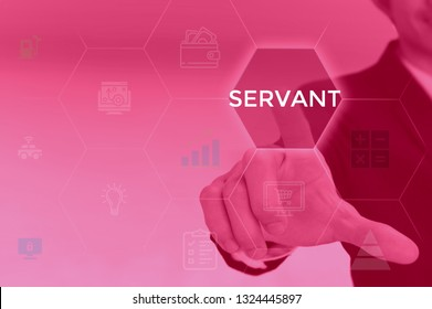 SERVANT - technology and business concept