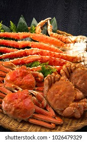 Served with crab boiled crab