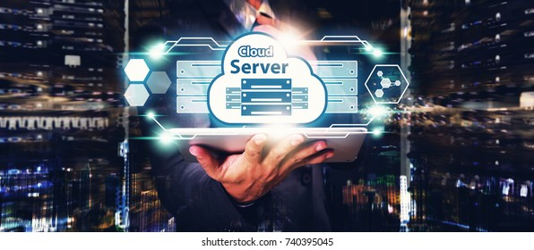 Server Cloud Computing service, Server Cloud application manage file sharing in data center for network security computer