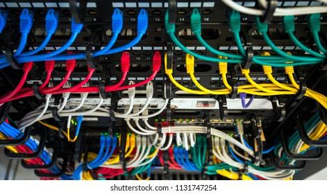 server wires data storage