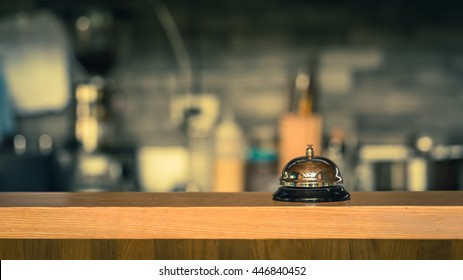 Service bell with bokeh
