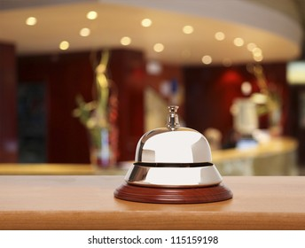 Service bell at the hotel
