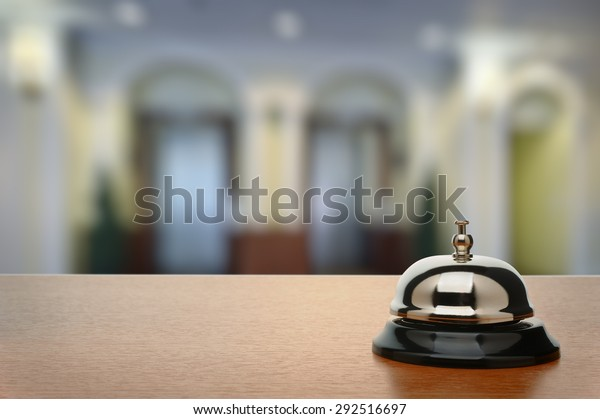 Service-Glocke im Hotel