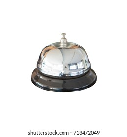 A service bell isolated on white background