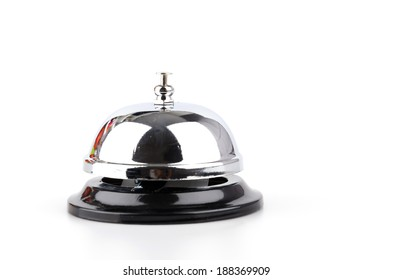 Service bell isolated white background