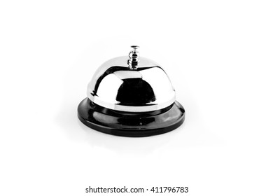 service bell on white