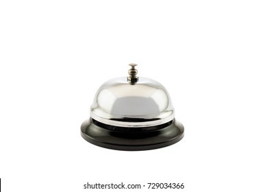 Service bell on white background.