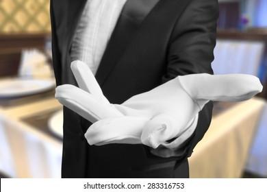 Service, First Class, Glove.