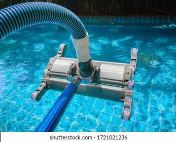 Service and maintenance of the pool.