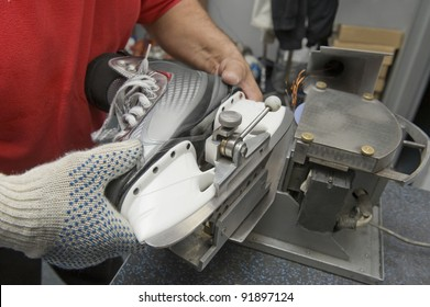 Service for skate with adept repairing skates