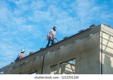 Service technicians  roofing Big bang-Nonthaburi October 27 A contract worker 2018 Service technicians  roofingconstruction labour exchange mou on investment is popular in the country, Thailand.