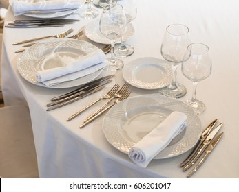 Serving in a restaurant