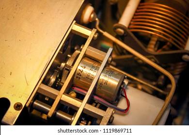 Servo motor in RF-Stepping circuit , Coupler antenna , Avionics equipment in aircraft with maintenance.