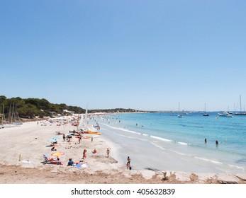 Ses Salines beach, Ibiza island