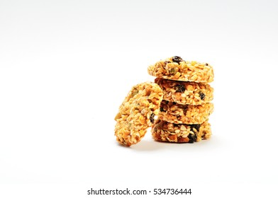 Sesame biscuits with berries