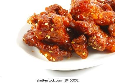Sesame Kung Pow Chicken Popular Chinese Dish