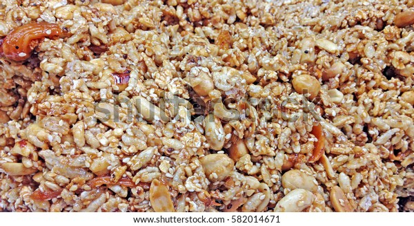 sesame-seeds and sugar