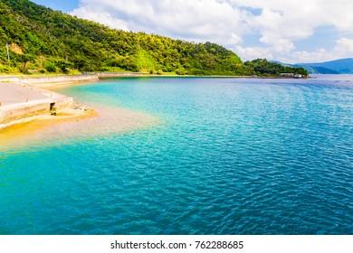 The Seso port.I shot in Seso port, Kakeroma Island, Kagoshima Prefecture, Japan.